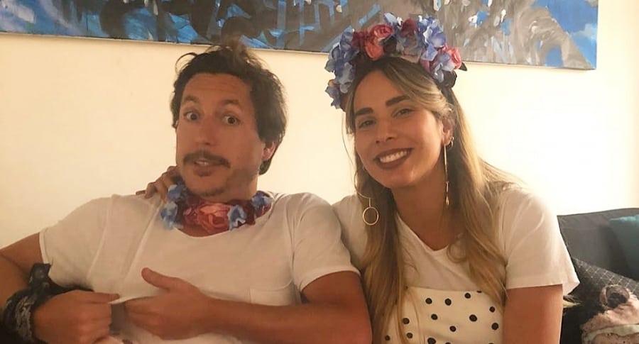 María Manotas y Alejandro Riaño