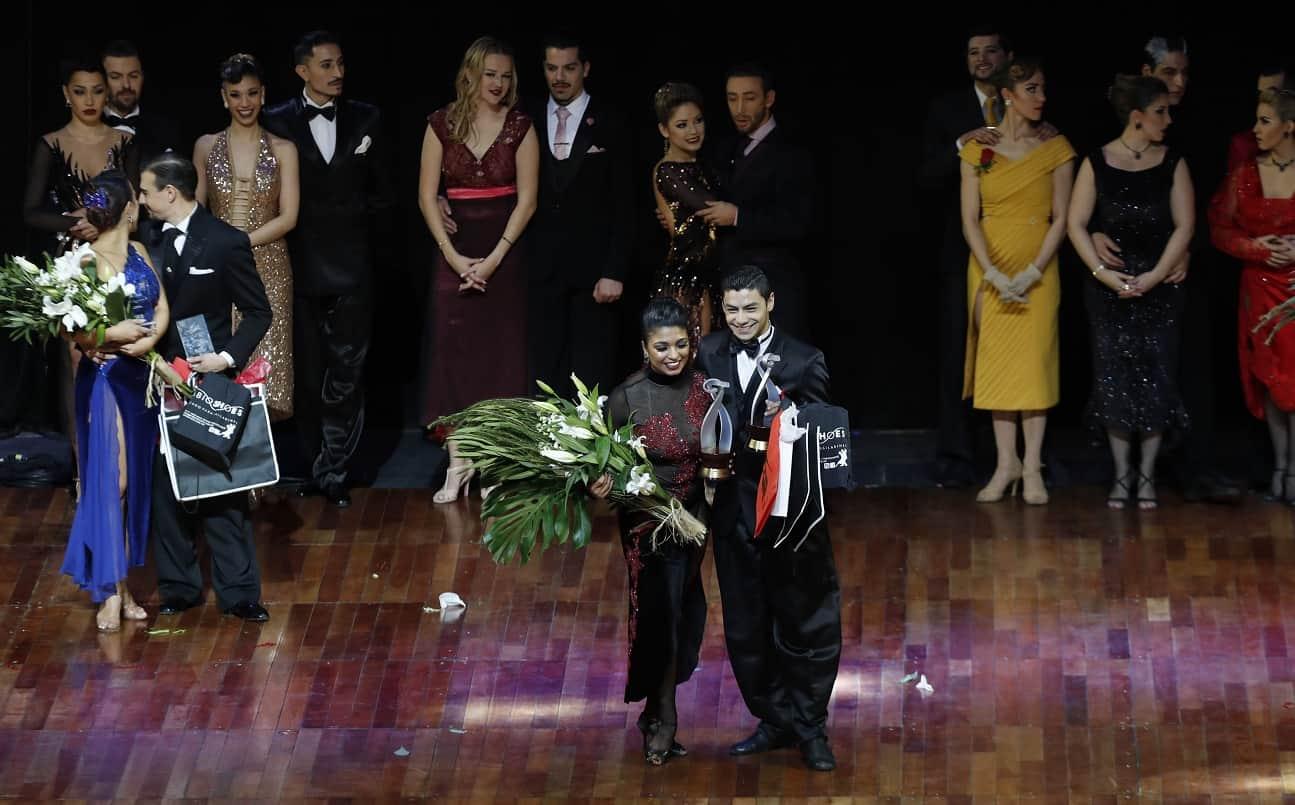 """Final de la modalidad de """"Tango Escenario"""" del Mundial de Tango de Buenos Aires"""