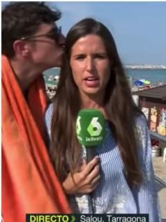 Elizabeth López, periodista española.