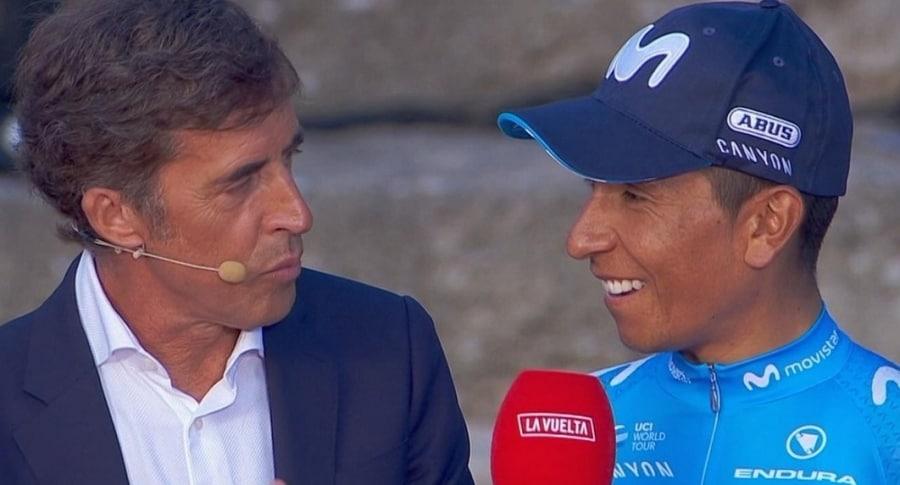 Pedro 'Perico' Delgado y Nairo Quintana