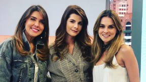 Mónica Rodríguez, Carolina Cruz y Catalina Gómez