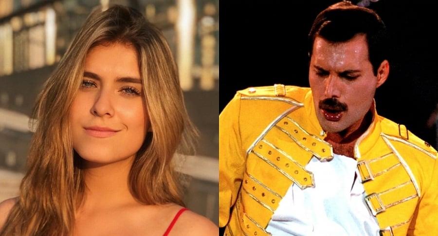 Laura Tobón y Freddie Mércury