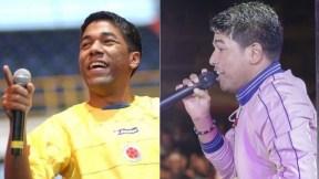 Kaleth (Q.E.P.D.)y Keyner Morales, hermanos y cantantes.