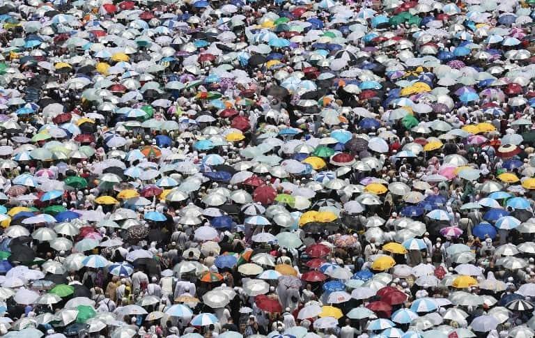 Musulmanes en La Meca