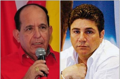 Álvaro Ashton y David Char Navas
