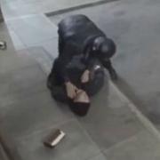 Ladrón noquea a su cómplice.