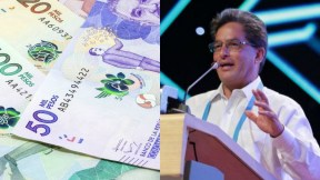 Dinero y Ministro de Hacienda