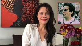 Flora Martínez, actriz, y Jaime Garzón, humorista (Q.E.P.D.)