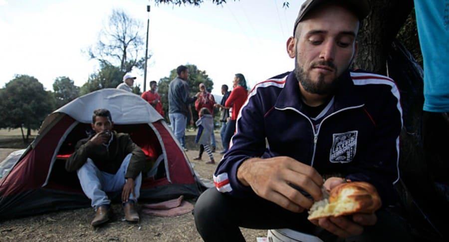 Migrantes venezolanos