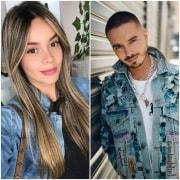 Alejandra Buitrago y J Balvin