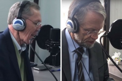 Antonio Navarro Wolff y Antanas Mockus