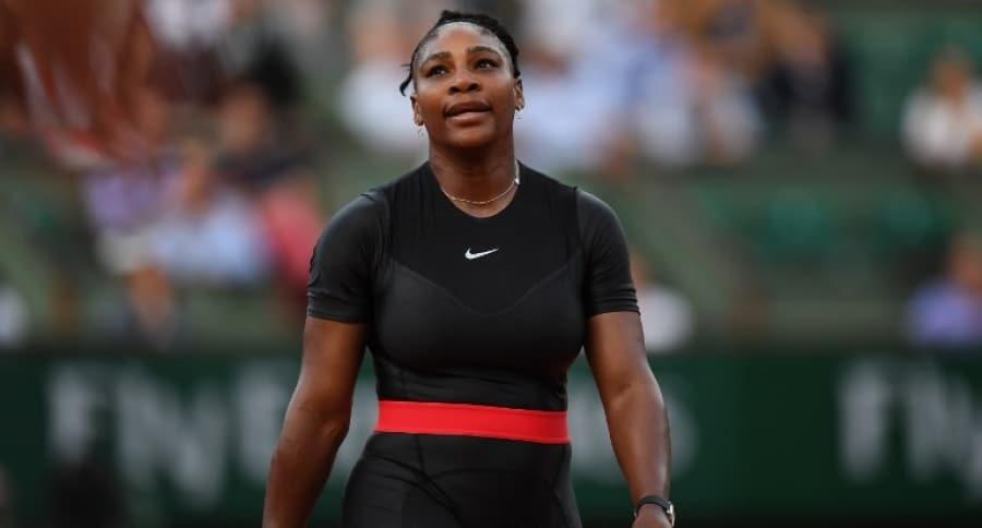 Serena Williams con su traje de 'Black Panther'