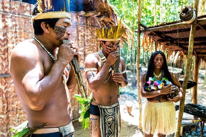 Tribus Nativas de Brasil