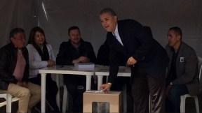 Iván Duque votó en consulta anticorrupción