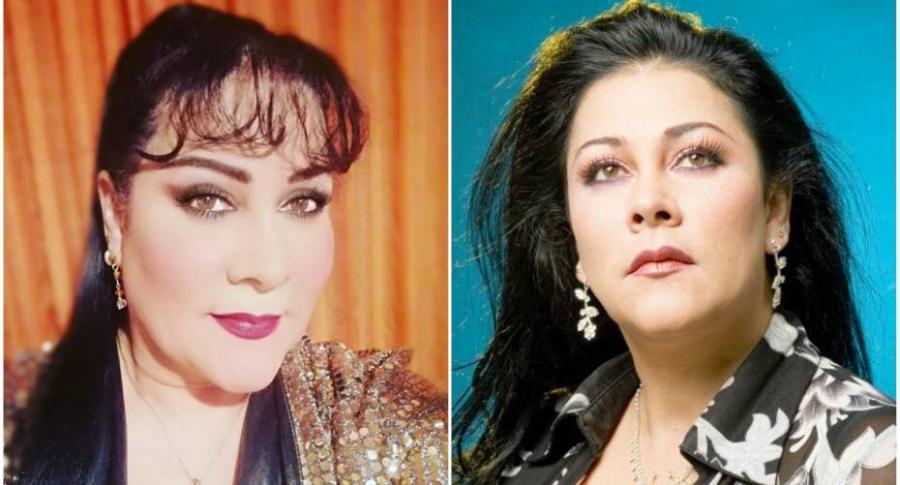 Patricia del Valle, cantante y actriz colombiana.