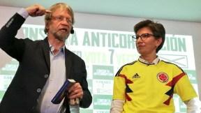 Antanas Mockus y Claudia López