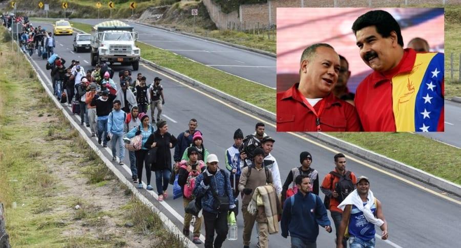 Resultado de imagen para Fotos de migrantes venezolanos
