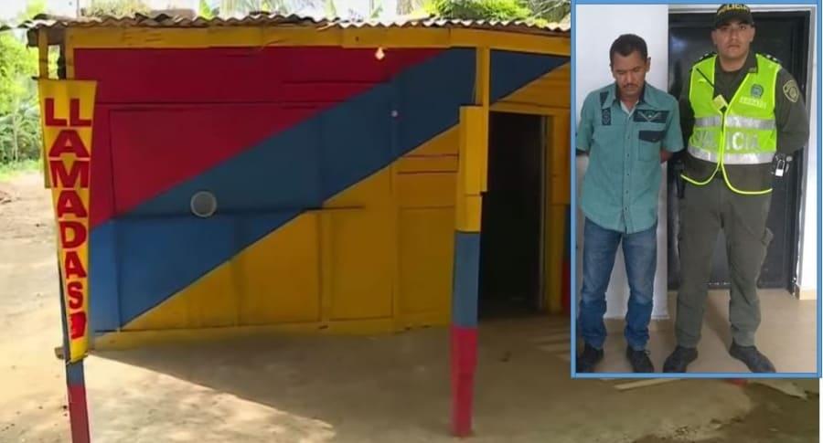 Esta es la vivienda en la que ocurrió la agresión a la mujer, al parecer, por parte de Jacob Guerrero Ramos