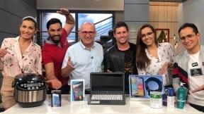 Adriana Betancur, Salomón Bustamante, Jota Mario Valencia, Juan Esteban Domínguez, Tatiana Franco y Pipe Romero, presentadores.