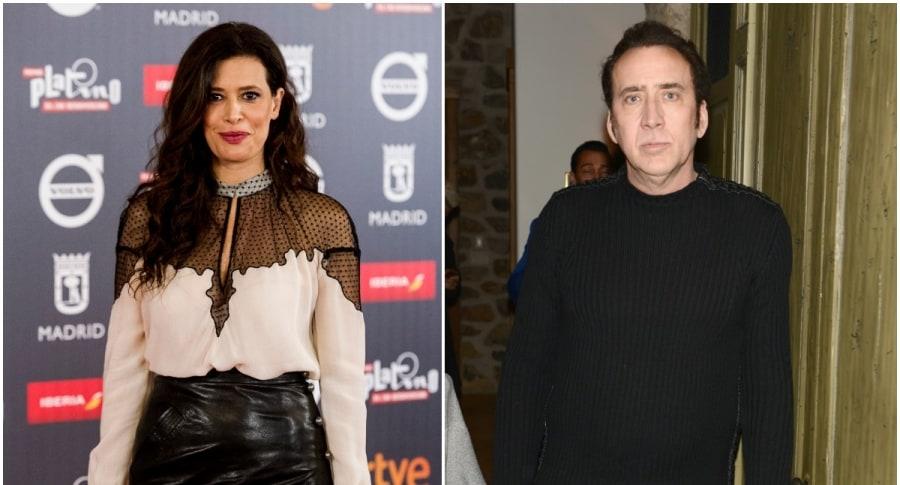 Angie Cepeda / Nicolas Cage