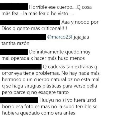 Comentarios post Yina Calderón
