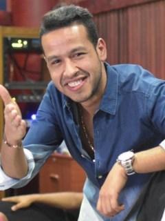 Martín Elías, cantante, y Rolando Ochoa, acordeonero.