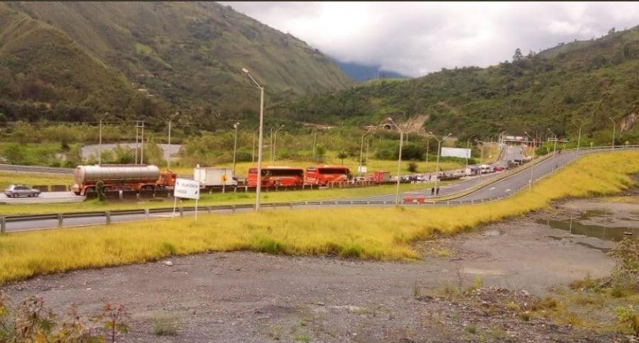 Vía Bogotá-Villavicencio