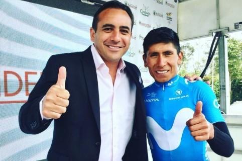Mario Sábato y Nairo Quintana