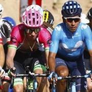 Nairo Quintana, Rigoberto Urán y Miguel Ángel López