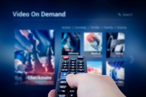 Control y televisor