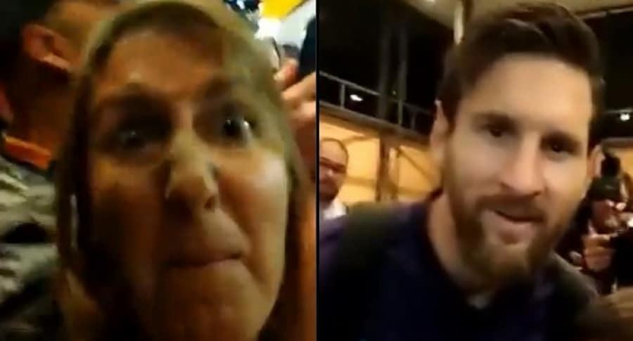 Hincha de Rosario Central insulta a Messi