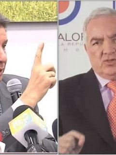 José Félix Lafaurie y Edgardo Maya Villazón