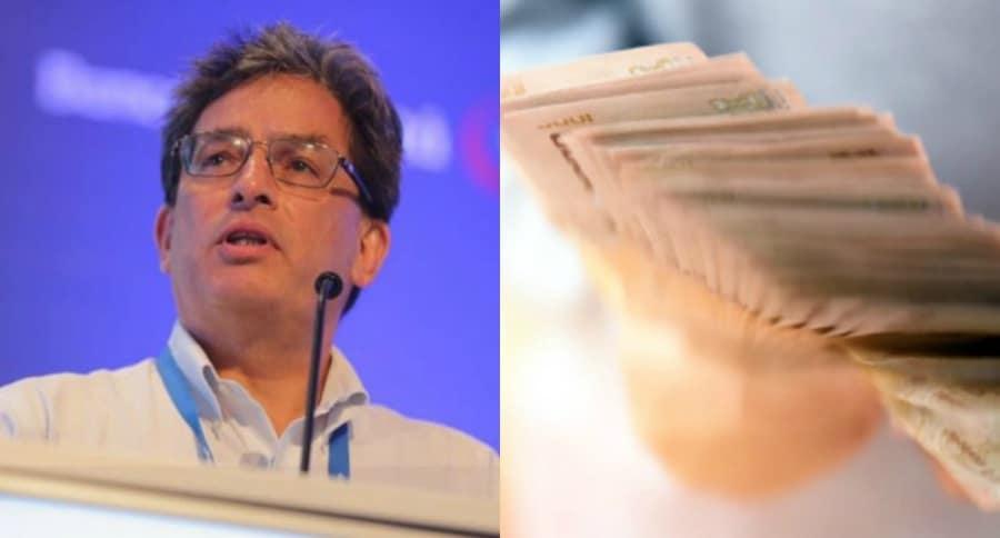 Ministro de Hacienda y plata
