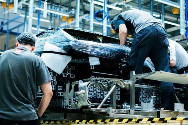 Ensamble Bugatti Chiron