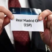 Real Madrid en el sorteo de la Champions