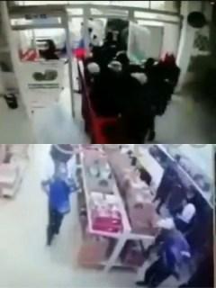 Hinchas de Millonarios robaron un D1 en Tunja