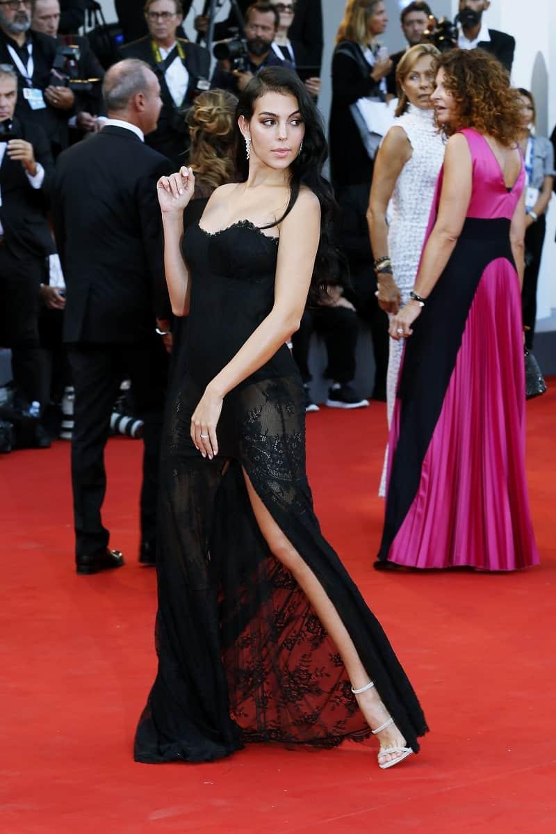 Georgina Rodríguez, modelo y novia de Cristiano Ronaldo.