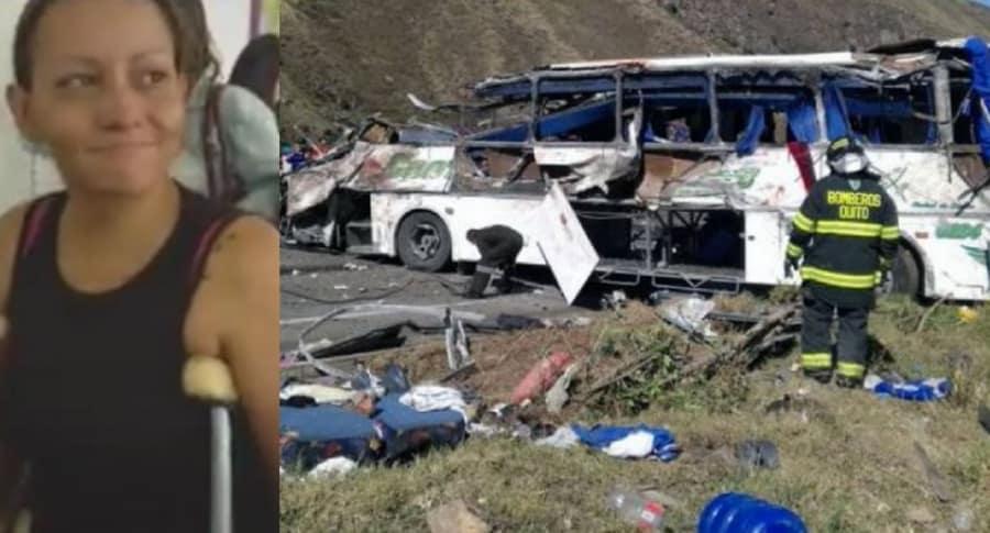 Claudia Ximena Orozco y 'narcobús'