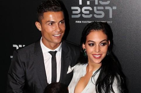 Cristiano Ronaldo, futbolista, y Georgina Rodríguez, modelo.