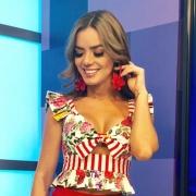 Elianis Garrido, actriz y presentadora.