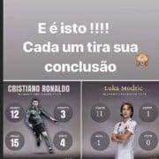 Historia de Instagram de Katia Aveiro