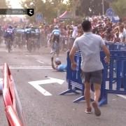 Accidente La Vuelta