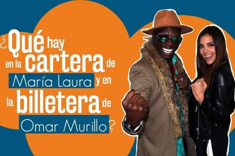 María Laura Quintero y Omar murillo