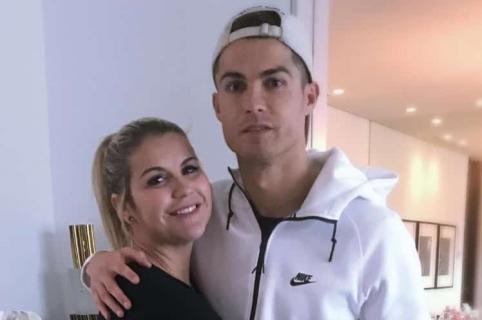 Katia Aveiro y Cristiano Ronaldo