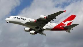 Avión de Qantas Airways