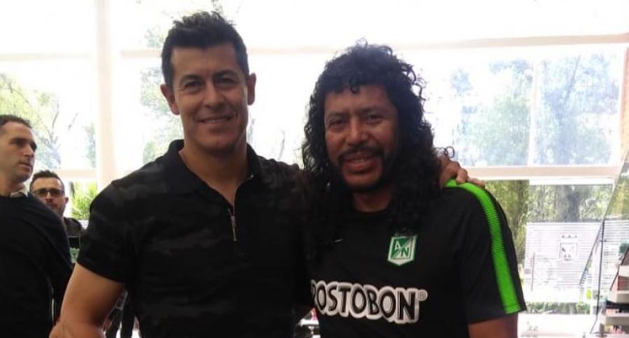 René Higuita y Jorge Almirón