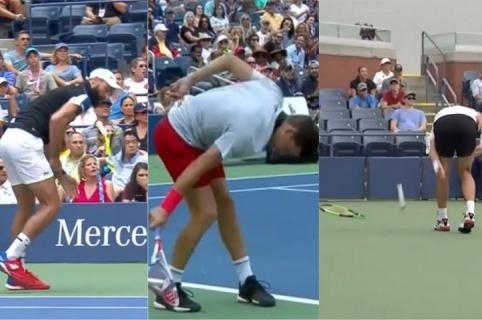Paire, Thiem y Pella destrozaron sus raquetas
