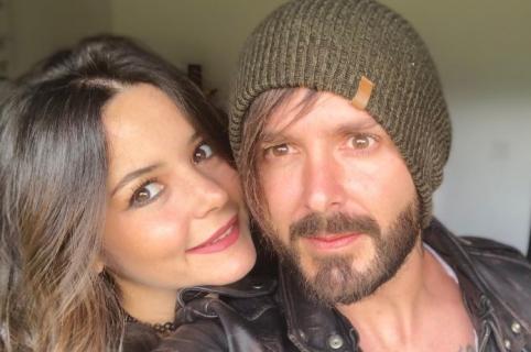 'Maleja' Restrepo, actriz, y su esposo 'Tatán' Mejía, motocrosista.