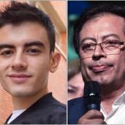 Jordi y Gustavo Petro