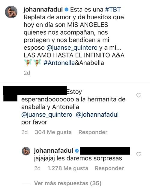 Comentarios Johanna Fadul